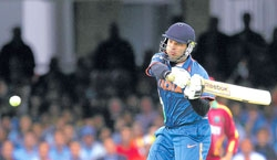 Bravo does it for Windies