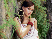 IN HOT WATER: Rihanna