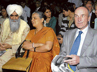 Chiranjeev Singh, Sudha Murthy and Dominque Causse