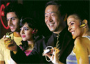 Sony India Managing Director Masaru Tamagawa at the launch of its new Walkman MP3s in New Delhi on Tuesday. PTI