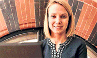 Net Navigator:  Google's vice-president of search product and user experience, Marissa Mayer. Photo: The Guardian