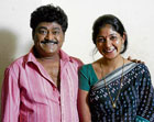 Jaggesh and Yajna Shetty in Eddelu Manjunatha