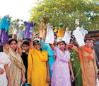 SPREADING AWARENESS: Through several activities like rallies, street plays etc, the organisation is hoping to sensitise people to the necessity of women's education.