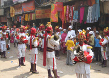 The Jea Band: One of Delhi's oldest wedding brass bands.