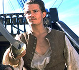 Orlando Bloom in 'Pirates of the Caribbean'