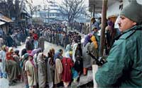 Ignoring the poll boycott call by separatists, conflict-weary Kashmiris came out in large numbers during the 2008 Assembly election to vote for change. DH information centre