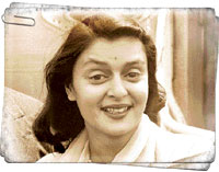 Maharani Gayatri Devi File photo AP