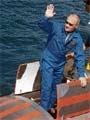 Vladimir Putin has a whale of a time