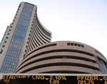 Sensex back in negative zone after breaching 16k level