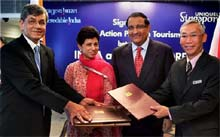 India, Singapore sign joint pact