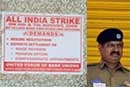Bank strike hits ATMs too