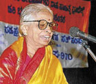 carnatic charisma Music helped Rajamani tackle the troubles in her life as well as touch  the lives of many.
