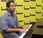 in tune Madhav Chari at the piano dh Photo by kishor kumar Bolar