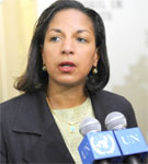 US Ambassador to the UN, Susan Rice