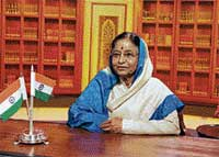 President Pratibha Devisingh Patil addresses the nation in New Delhi on Friday, on the eve of the country's 63rd Independence Day. AFP