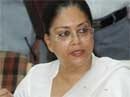 Raje not to resign 'for now' as opposition leader of Rajasthan assembly