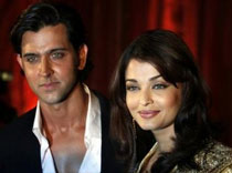 Hrithik and Aishwarya