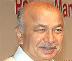 Power Minister Sushilkumar Shinde. File photo.