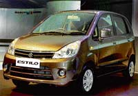Elegant Estilo: Maruti Suzuki's new Zen Estilo unveiled in New Delhi on Tuesday. PTI