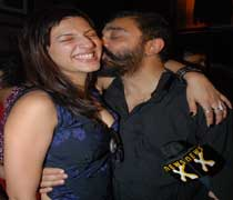 Shruti and Kamal Hassan