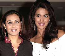 Rani Mukerji and Priyanka Chopra