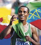 the master Kenenisa Bekele enhanced his reputation with a terrific double at the World Championships in Berlin. AFP