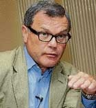 WPP chief bets big on India