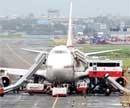 Fuel leak caused AI plane blaze