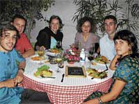 Soul Food: French families get together.