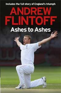 Andrew Flintoff's book 'Ashes to Ashes'