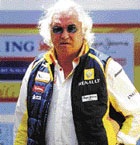 business all the way Flavio Briatore's ways weren't always straight. AFP