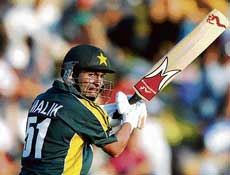 Shoiab Malik's century formed the backbone of Pakistan's win over India on Saturday. AFP