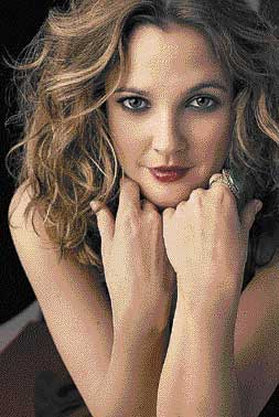 a long career in film Actress Drew Barrymore.