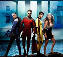 In the movie Blue