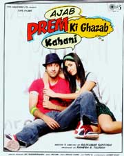 Bollywood movie 'Ajab Prem Ki Ghazab Kahani'