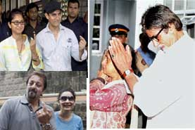 Bollywood votes