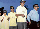 assisting the blind Every year October 15 is celebrated as World White Cane Safety Day. DH photo