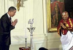Obama brings Diwali celebrations to the White House