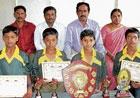 Chintamani students for national yoga meet