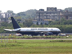 A US aircraft carrying Marines landed at the Mumbai airport for violating Indian airspace on Sunday. AP