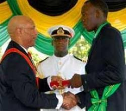 Sprinter Usain Bolt honoured with Order of Jamaica