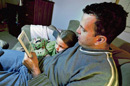 reading made easy Brandon Watson reads to his daughter, Casseia, in Woodinville, Washington. NYT