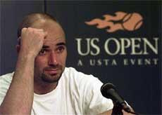 Agassi admits using crystal meth in autobiography