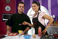 Vicky Ratnani (left) and Maria Goretti on 'Do It Sweet'