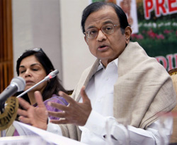 P Chidambaram. File photo/PTI