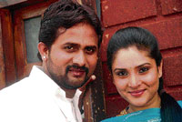 Kitti and Ramya in Sanju weds Geetha.