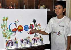 Children's Day special: 10-year-old Indian student's doodle on Google