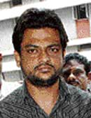 Nazeer Ahmed held for smuggling at BIA. DH Photo