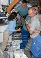 Station alarms delay spacewalk