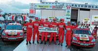 MRF team which won Speed India Championship. However, in a late evening development, the results have been withheld due to complaints against the winners. DH photo